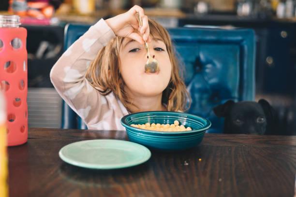 morning meal - muesli imagens e fotografias de stock