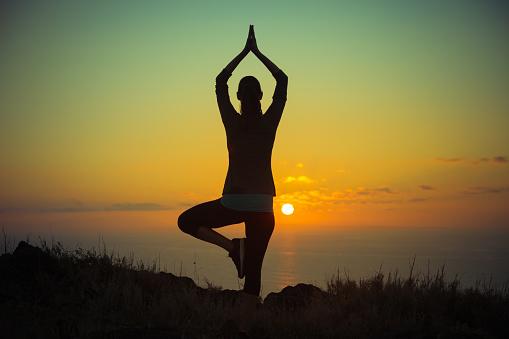 Morning Meditation Stock Photo - Download Image Now - iStock