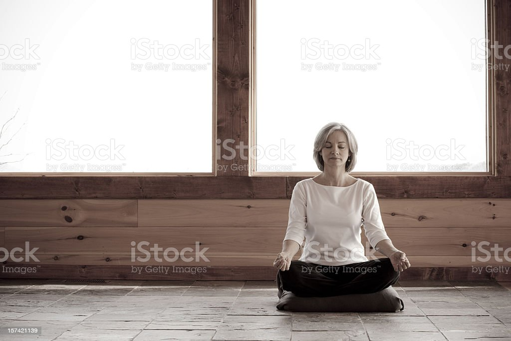 Morning Meditation (XXL) royalty-free stock photo