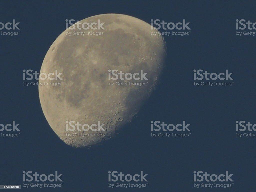 Morning Moon stock photo