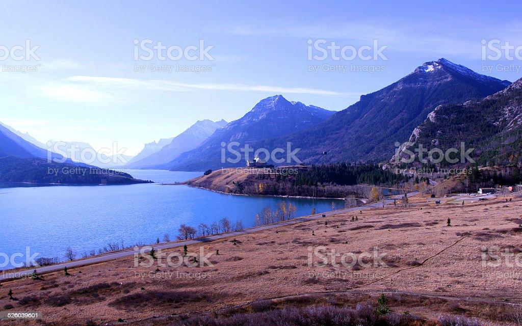 Morning Mountains stock photo