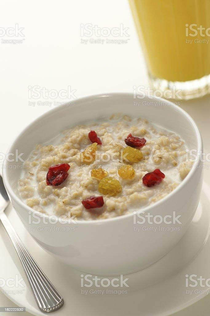 Morning Oatmeal royalty-free stock photo
