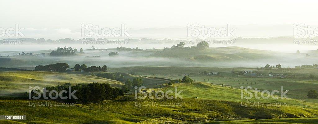 Morning Panorama stock photo