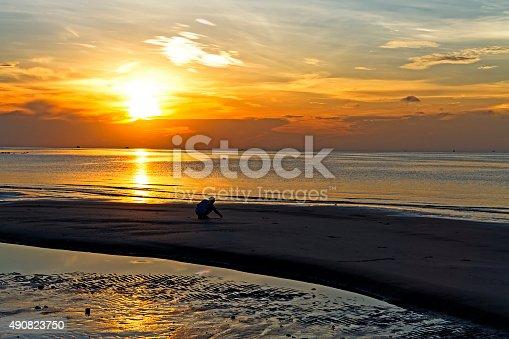 494377786istockphoto Morning people sunrise 490823750