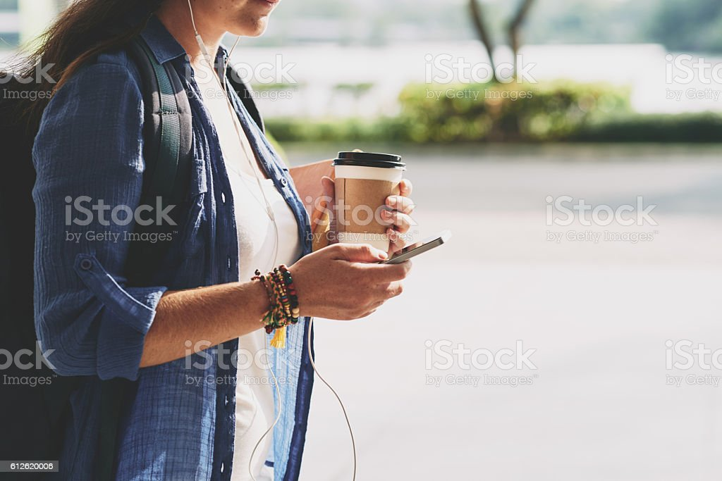 Morning stock photo