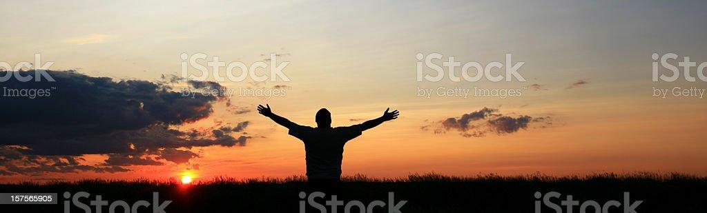 Morning Praise royalty-free stock photo