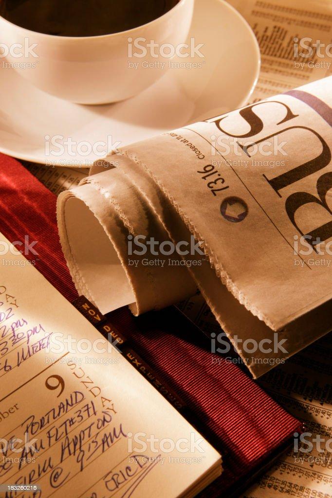 Morning Reading royalty-free stock photo