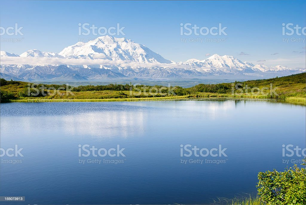 Morning Reflection stock photo