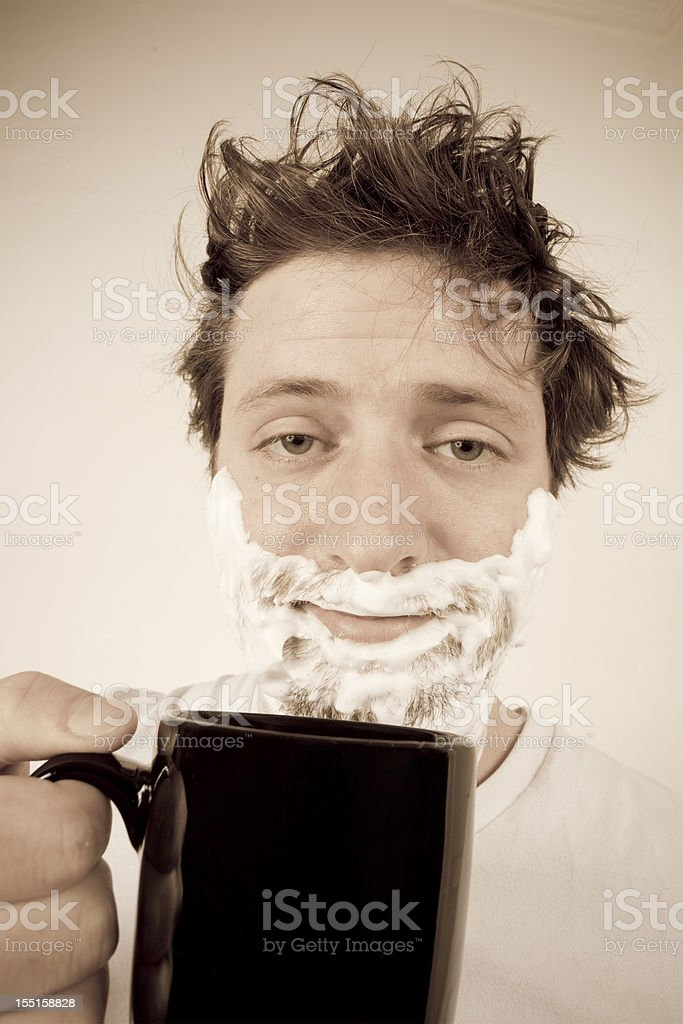 Morning Routine - Need To Wake Up royalty-free stock photo