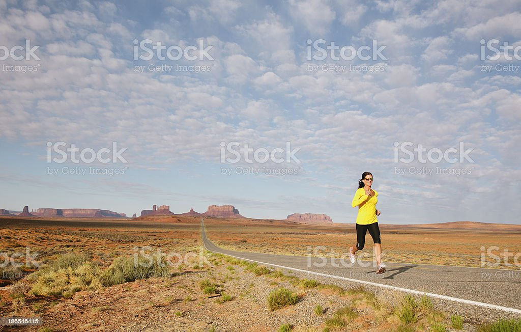 Morning Run royalty-free stock photo