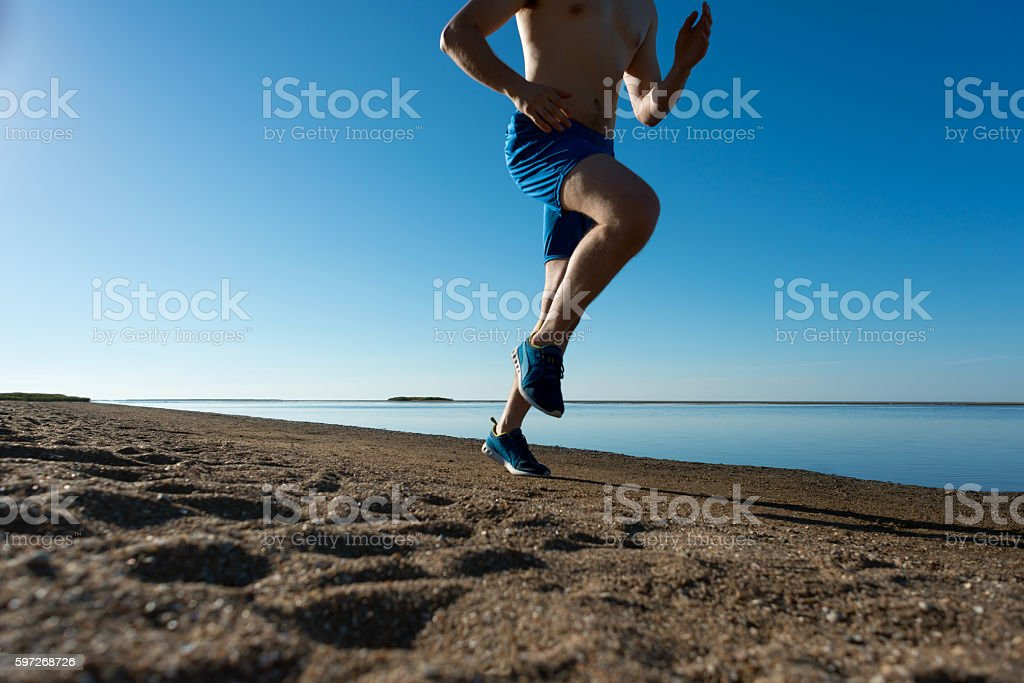 morning running royalty-free stock photo