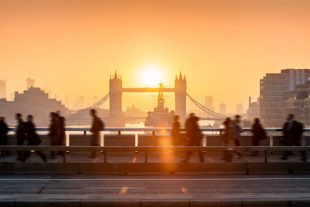 Morgenrausch in London – Foto