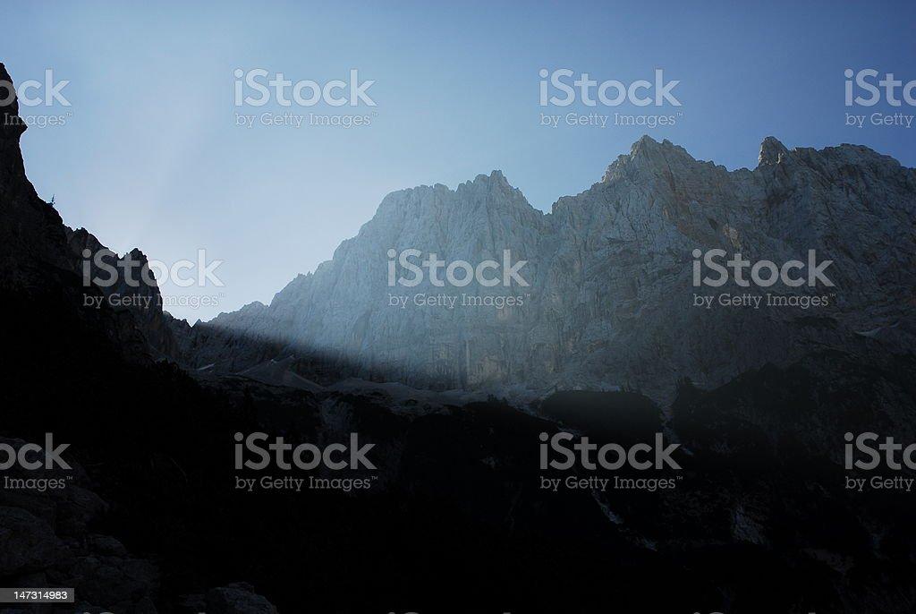 Morning shadows royalty-free stock photo