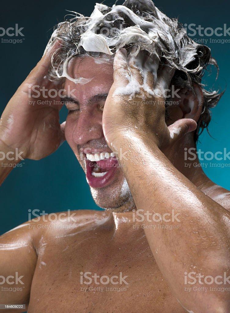 Morning shower royalty-free stock photo