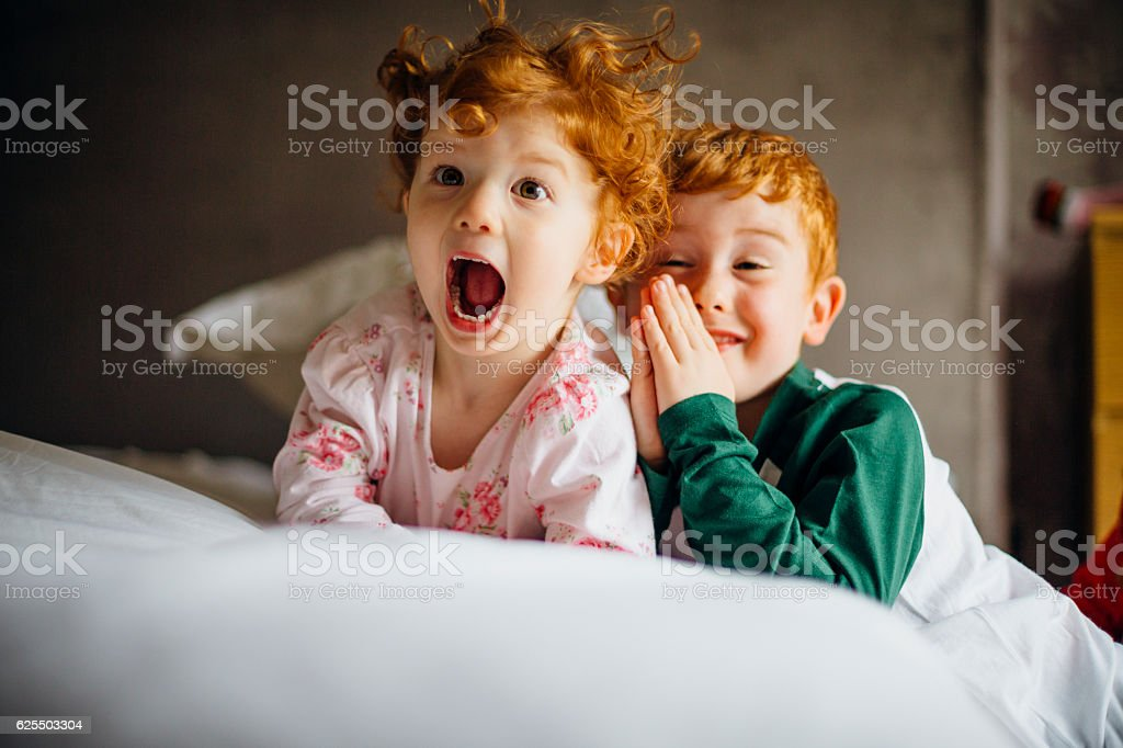 Morning Silliness stock photo