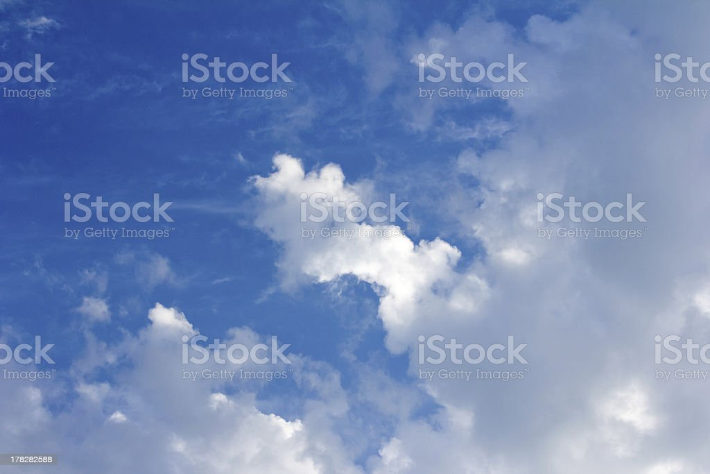 Morning Sky Opens Up stock photo