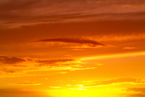 Beautiful morning sky background.