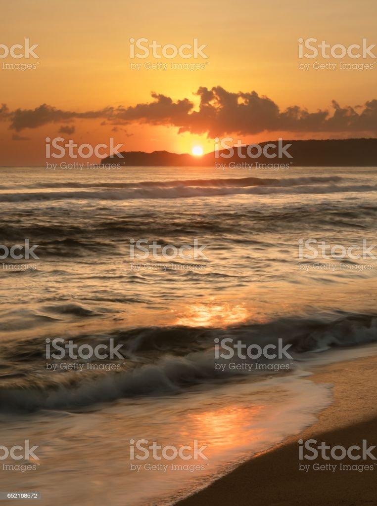 Morning Skyline Glow stock photo
