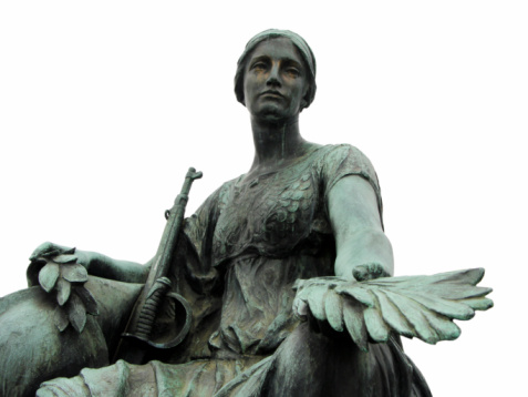 Morning statue