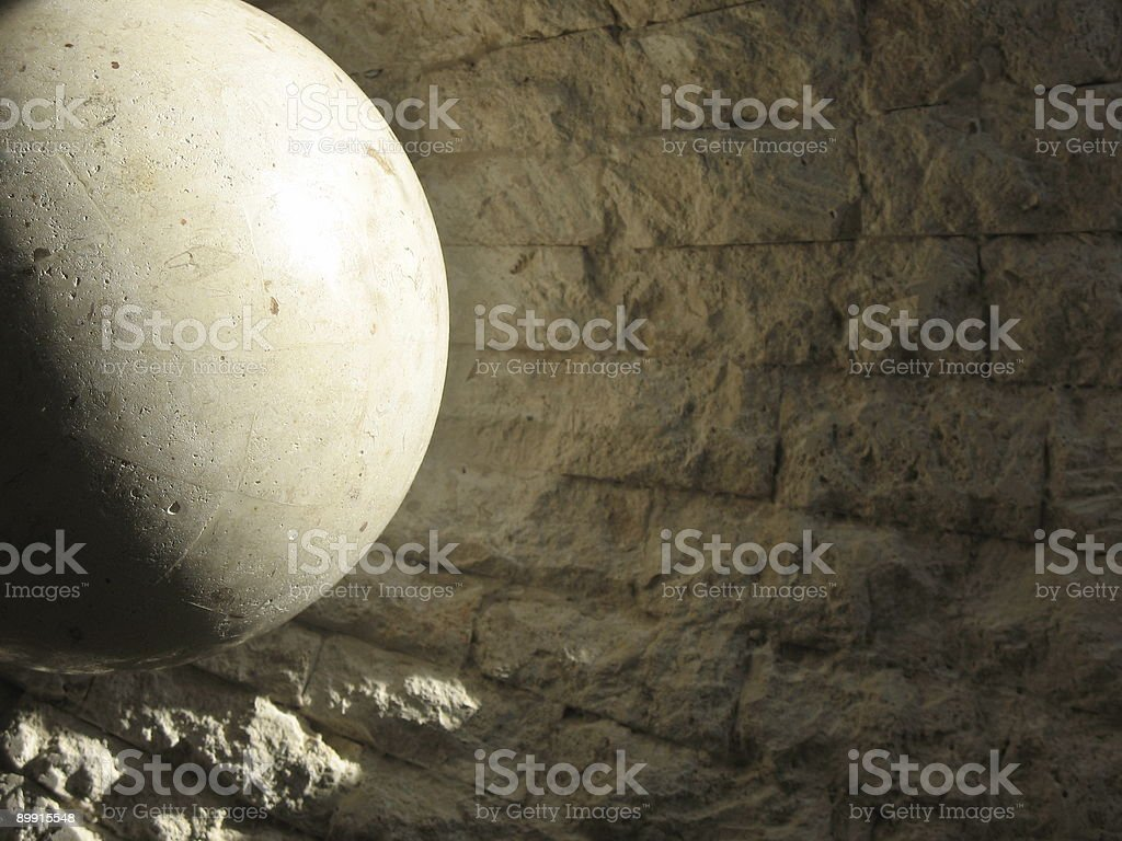 Morning Stone royalty-free stock photo