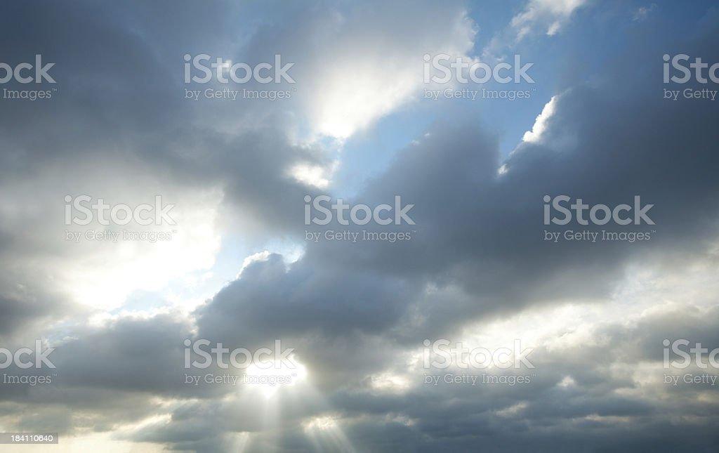 Morning Sun In Belgium royalty-free stock photo