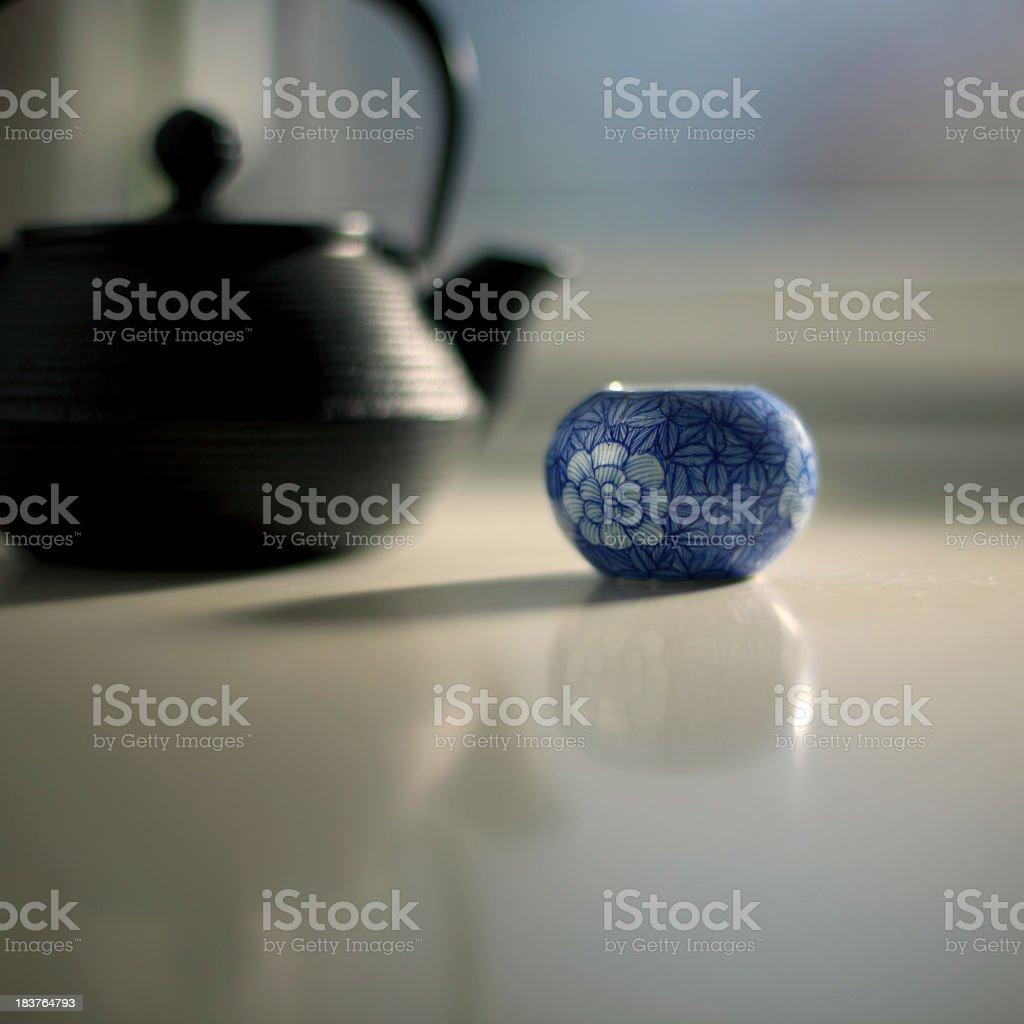 Morning Tea royalty-free stock photo