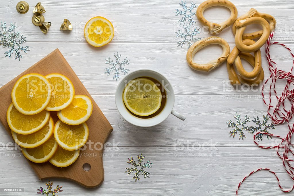 Morning tea royalty-free stock photo