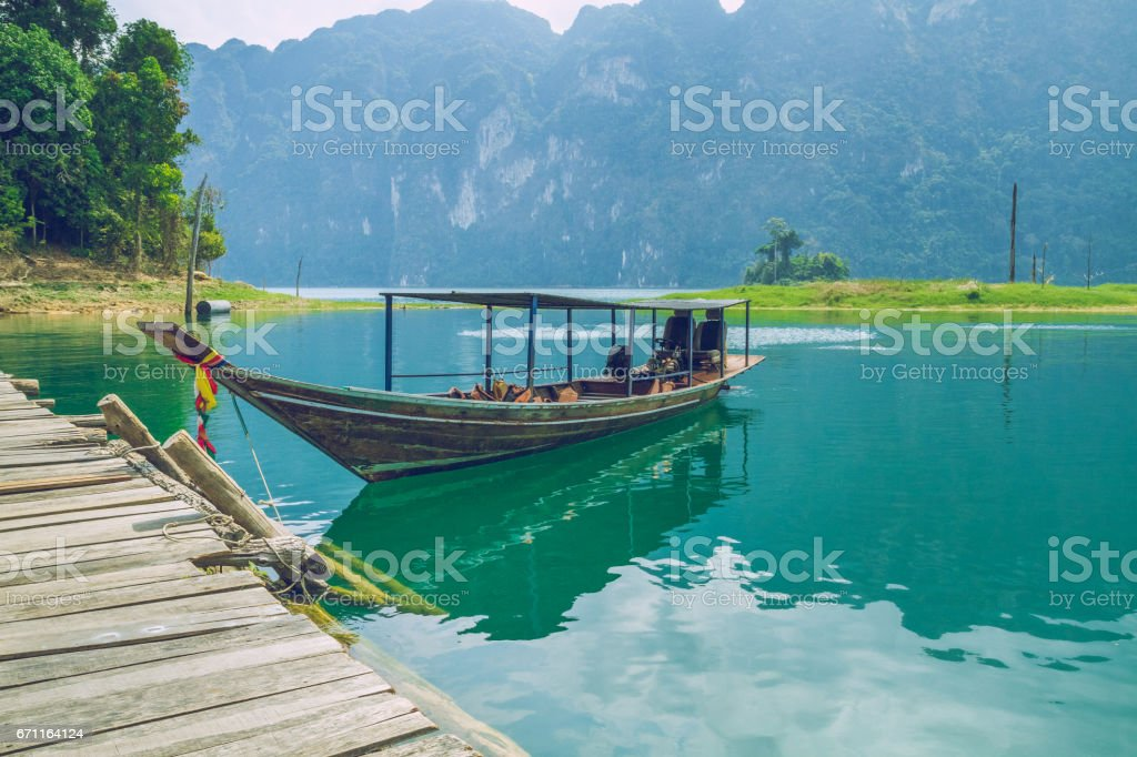 Morning time in Thailand island. 2016 stock photo