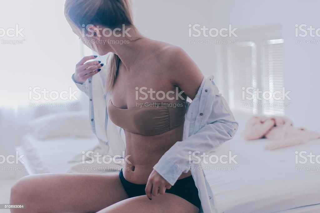Morning time stock photo