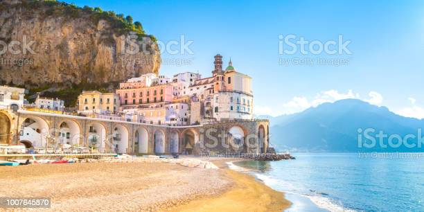 Morning view of amalfi cityscape italy picture id1007645870?b=1&k=6&m=1007645870&s=612x612&h=dkkaunwd rxnqvhyxesq3t4xjcvf9evzxlzf1a6ixmc=