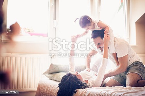 479612990istockphoto Morning with my parents is always fun. 914852872