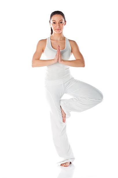 morgen-yoga - marko skrbic stock-fotos und bilder