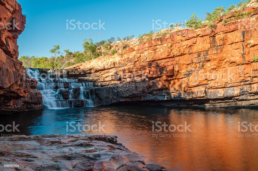 Mornings at Bell Gorge stock photo