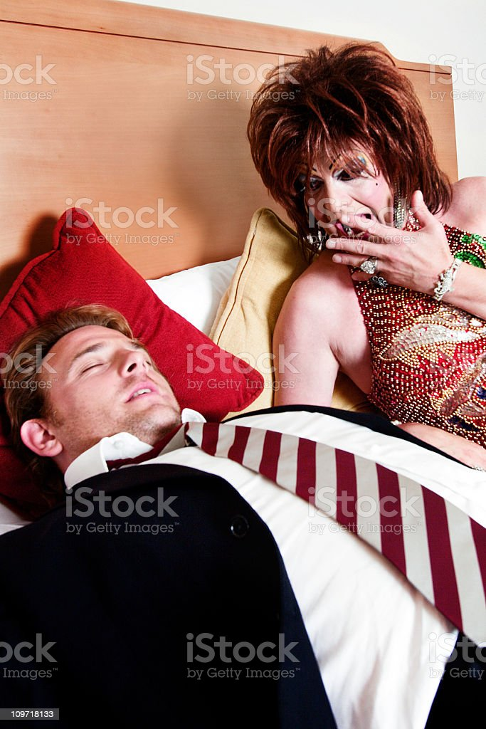 Morning's surprise royalty-free stock photo