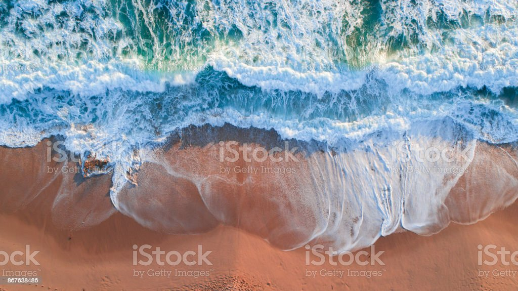 Mornington Peninsula Aerial Ocean stock photo