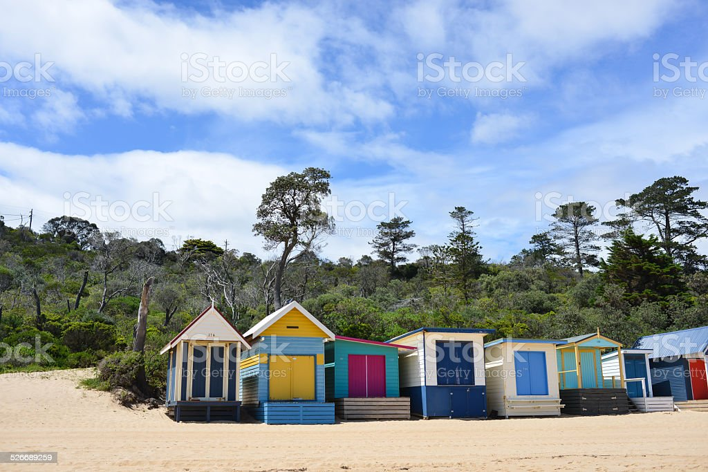 Mornington Peninsula - paradise stock photo