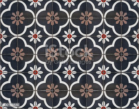 istock Moroccan decorative tile textured 600163530