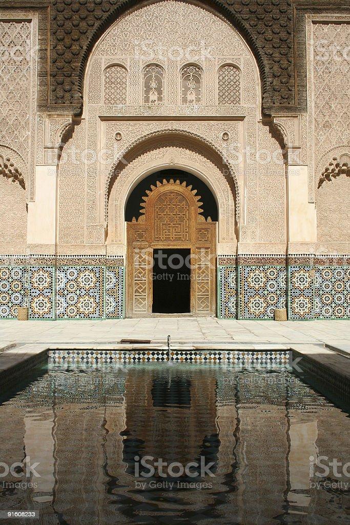 Moroccan Doorway royalty-free stock photo