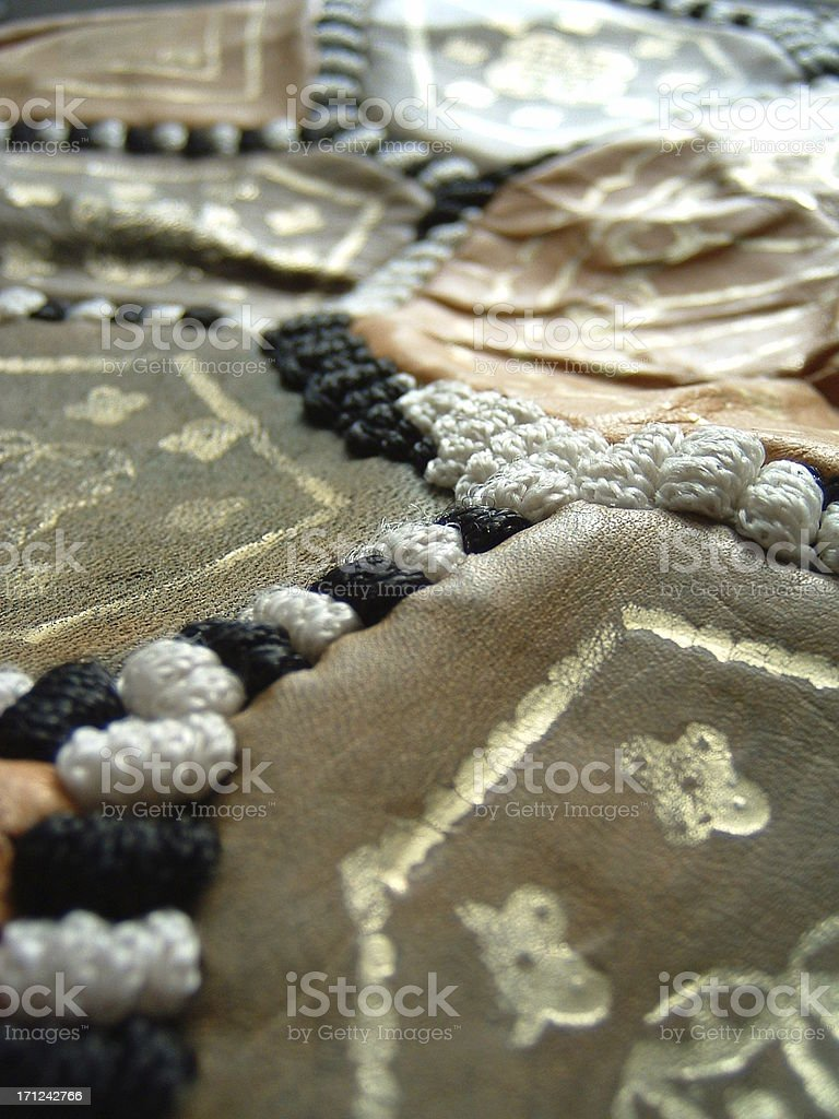 moroccan fabric 2 royalty-free stock photo