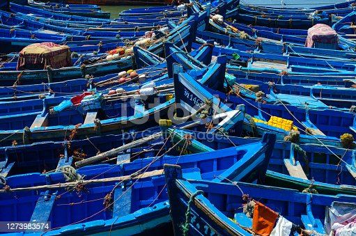 Moroccan fishing boats