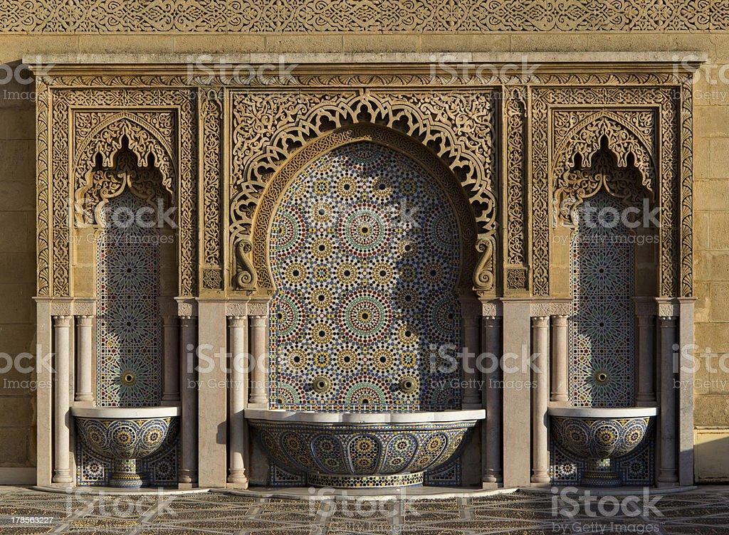 Fontana del marocco fotografie stock e altre immagini di acqua