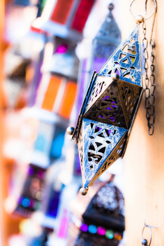 994119256 istock photo Moroccan glass and metal lanterns lamps in Marrakesh souq 177795647