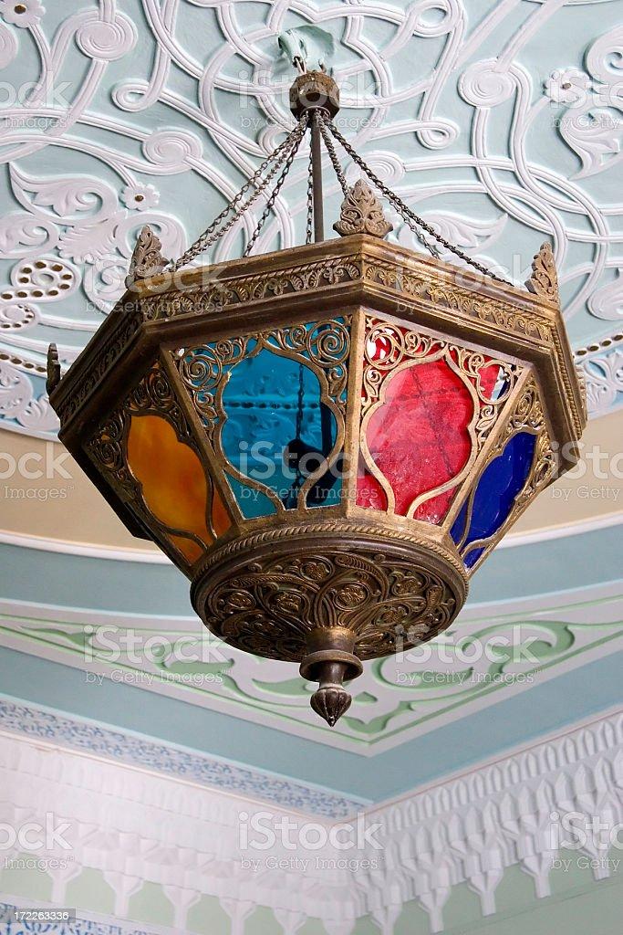 Moroccan lamp royalty-free stock photo