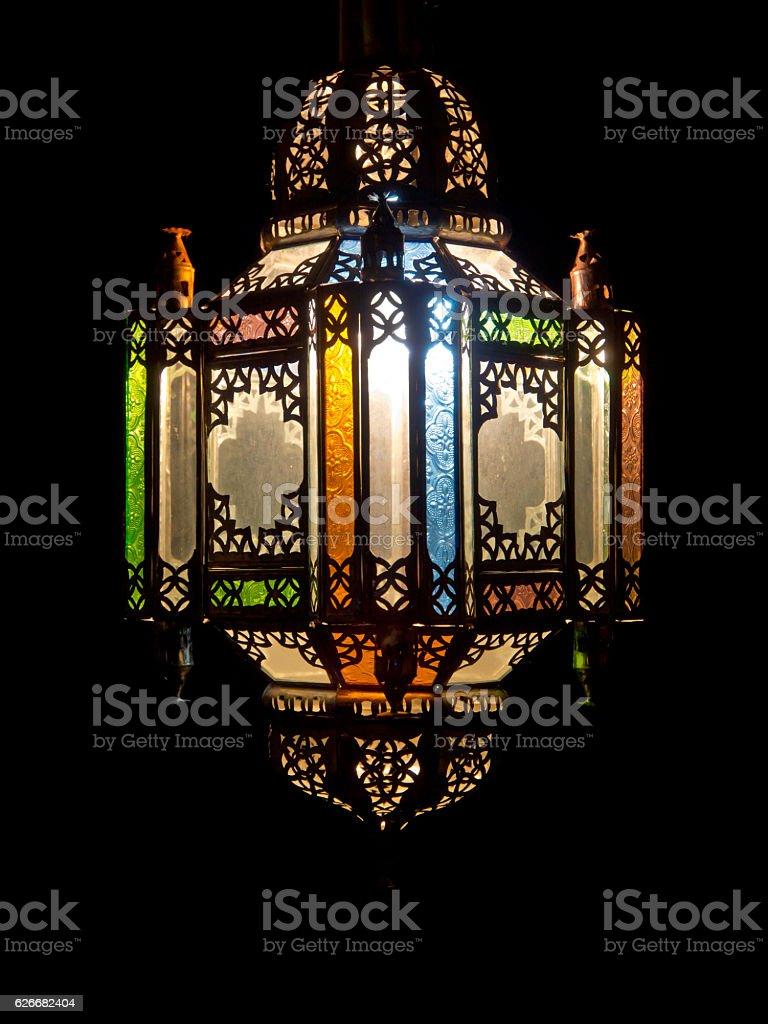 Moroccan lantarn stock photo