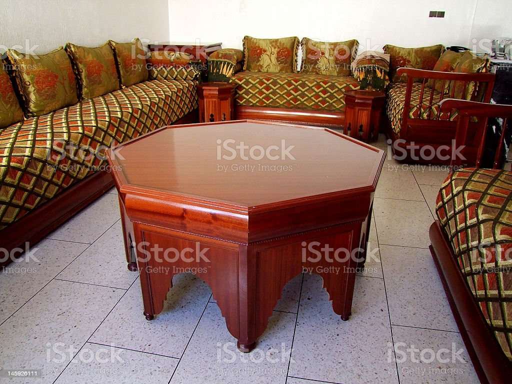 Moroccan Living Room Stock Photo Download Image Now Istock