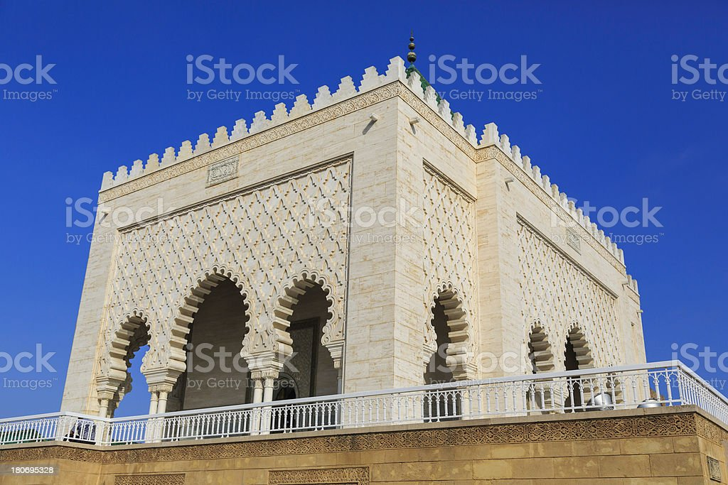 Moroccan Mausoleum royalty-free stock photo