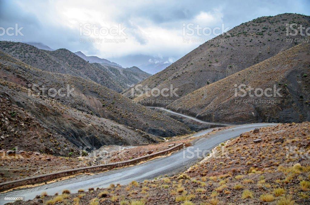 Moroccan mountain Atlas stock photo