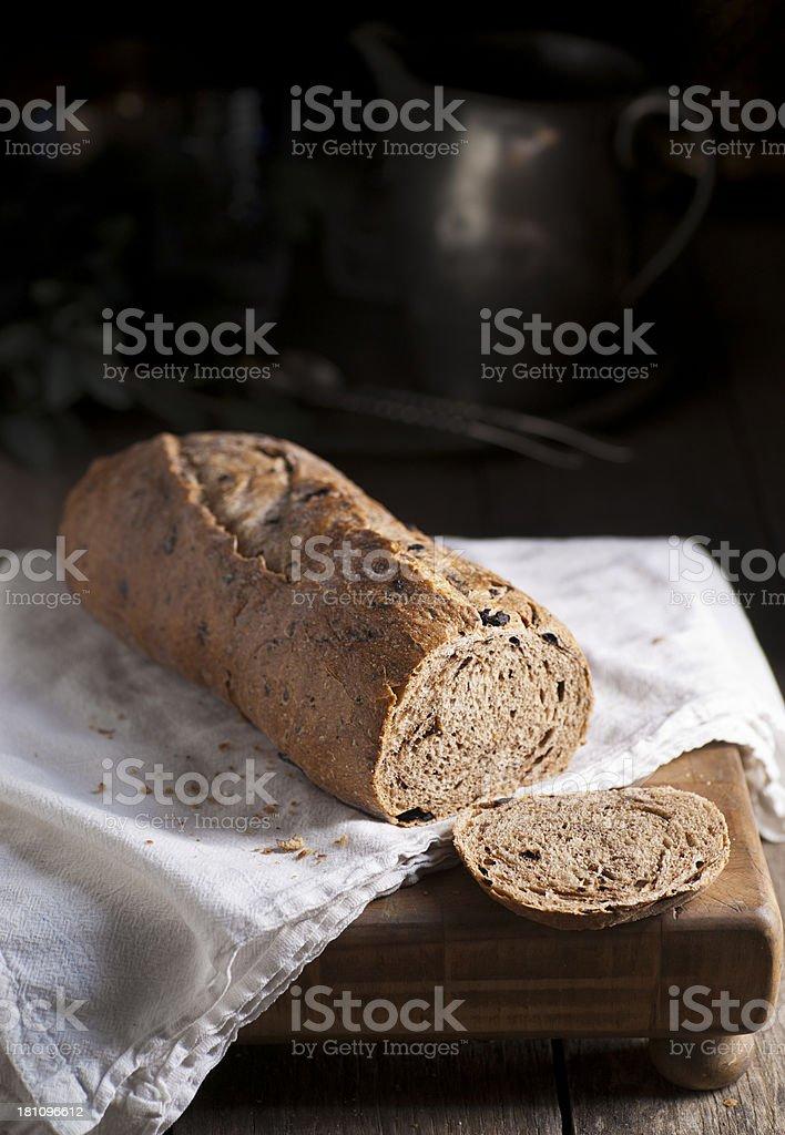 Marokkanische Olive Brot Lizenzfreies stock-foto