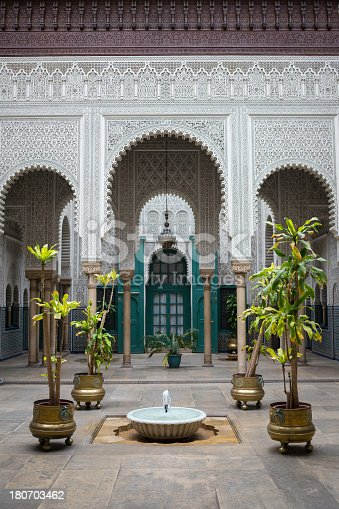 istock Moroccan palace 180703462