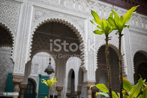 istock Moroccan palace 181866349